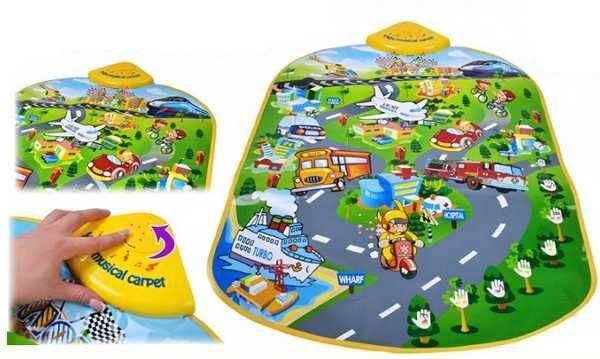 Dětská hrací podložka - Město