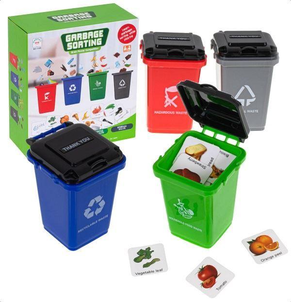 Logická hra třídění odpadu- GARBAGE SORTING