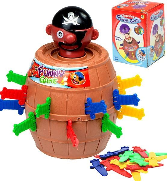 Hra Bláznivý pirát