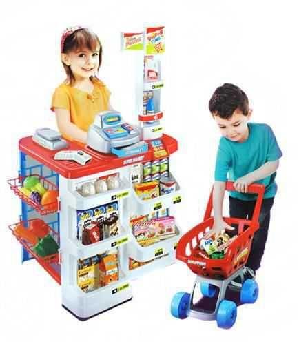 Supermarket pro děti s doplňky