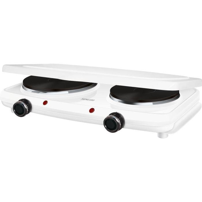 Elektrický vařič dvouplotýnkový  SCP 2271WH-EUE4 SENCOR