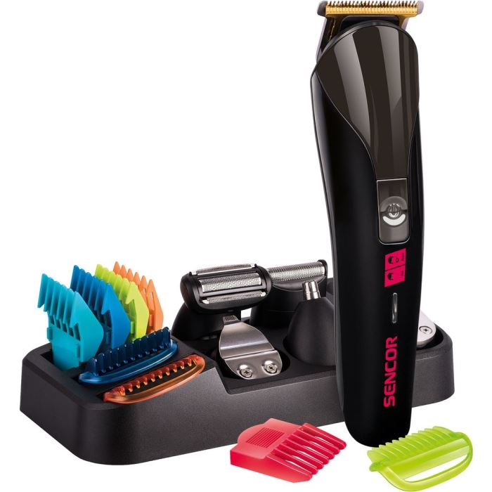 Zastřihovač vousů/vlasů SHP 7411BK SENCOR
