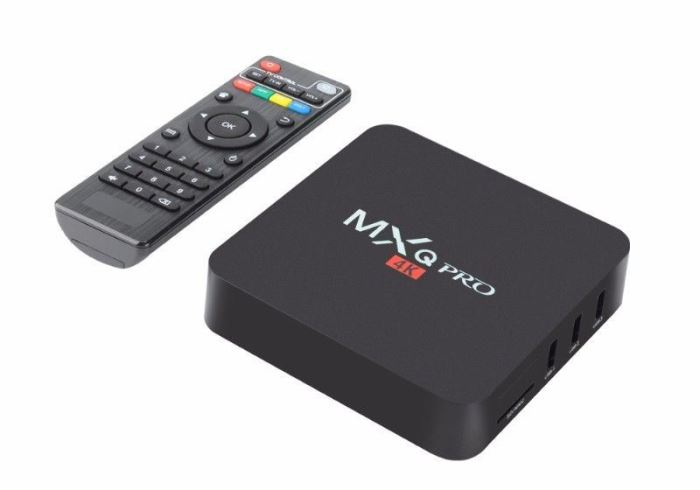 TV BOX Multimediální centrum MXQ Pro 4K