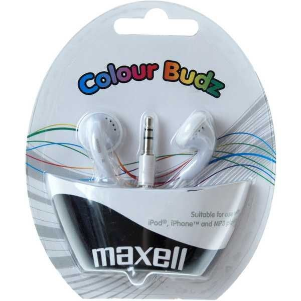 COLOUR BUDZ WHITE SLUCH. 303484 MAXELL