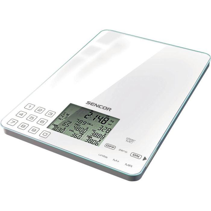 Kuchyňská nutriční dietetická váha SKS 6000 SENCOR