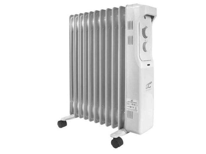 Olejový radiátor 2500W, 11 žeber, LTC