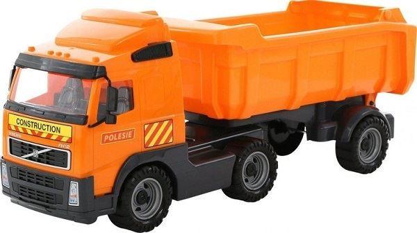 Dětské nákladní auto s vyklápěcím návěsem Volvo, 59cm