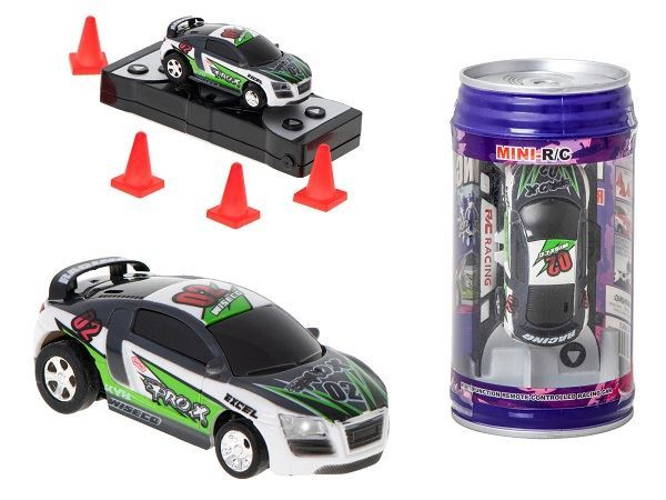 RC auto mini 9020B 2,4 GHZ, fialová plechovka