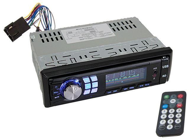 Autorádio FM RS2, vstupy AUX / USB / SD, 4x45W