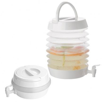 Skládací plastový dávkovač nápojů o objemu 7500 ml