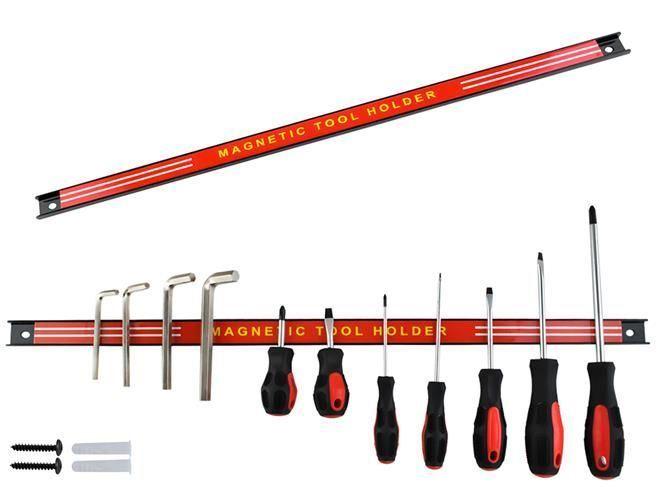 Magnetická lišta 60cm na nože a nářadí