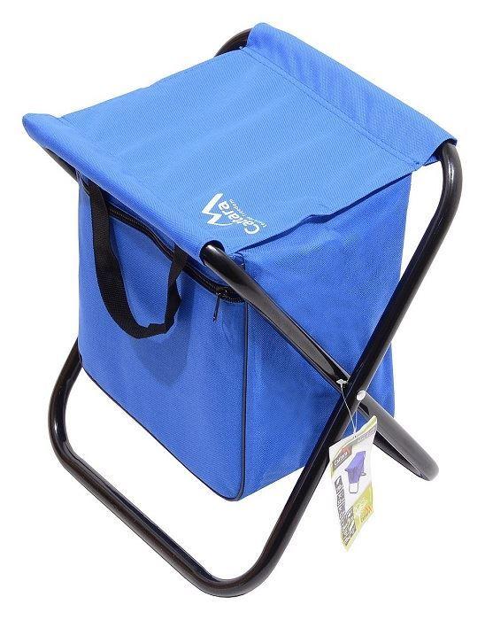 Cattara skládací  židle MALAGA modrá