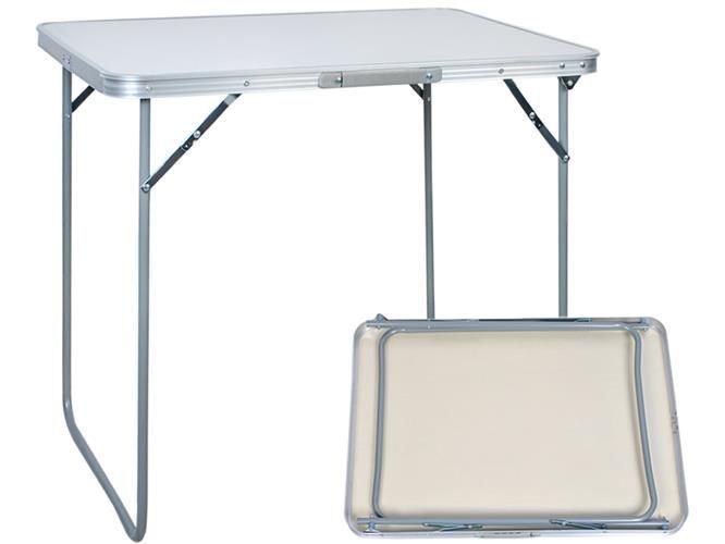 Kempingový hliníkový skládací stůl 80x60cm