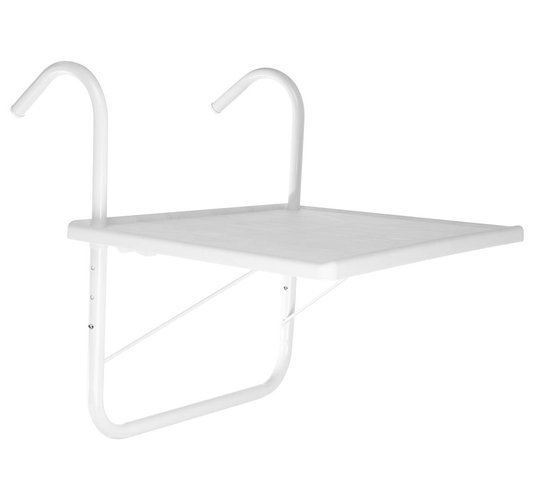 Závěsný balkonový stůl 40 x 52 cm