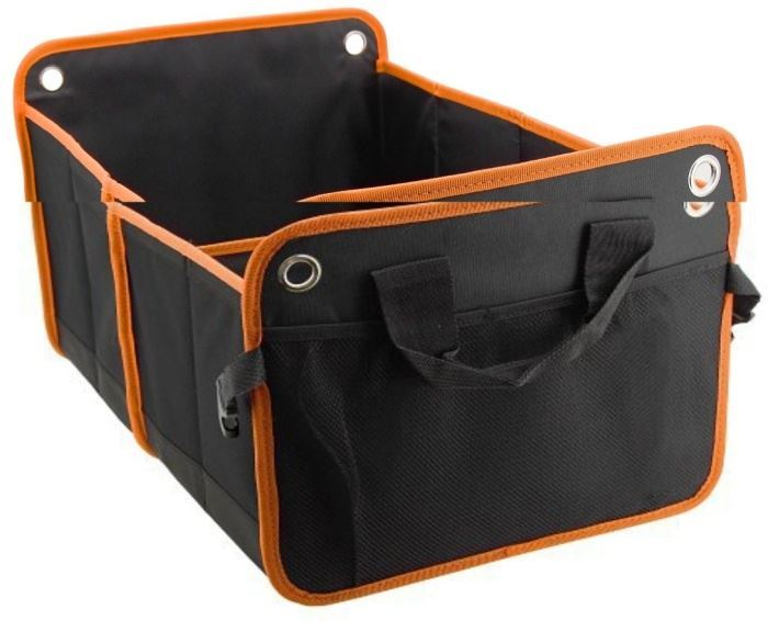 Organizér do kufru auta 54x34cm ORANGE