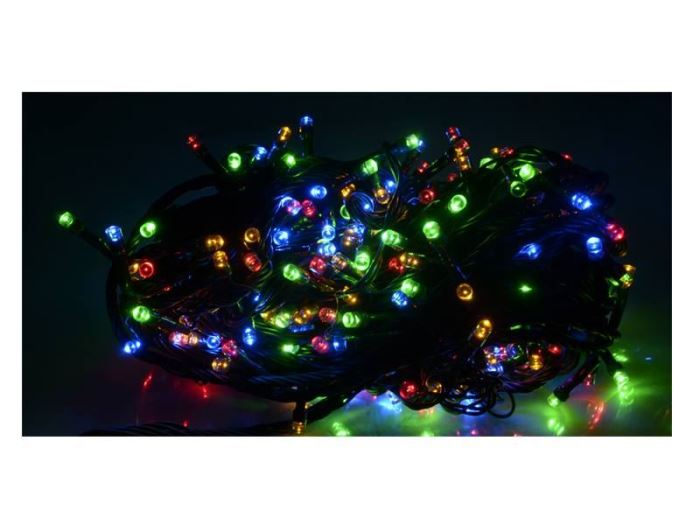 Vánoční osvětlení 100 x LED - barevné, 5,5m