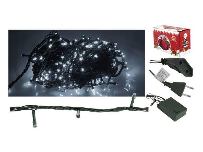Vánoční osvětlení 100 x LED - bílé, 5,5m