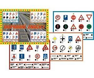 Dopravní značky, stolní výuková hra