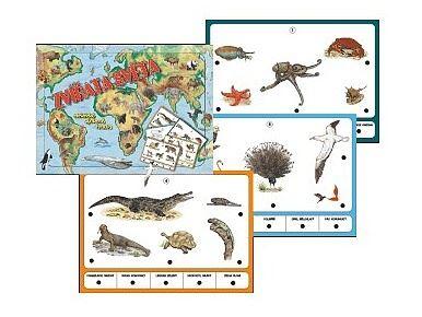 Zvířata světa, stolní výuková hra