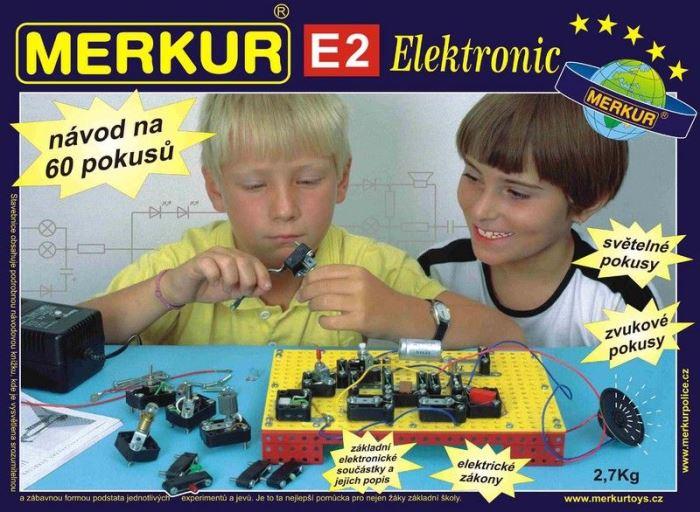 Stavebnice MERKUR E2 - electronic