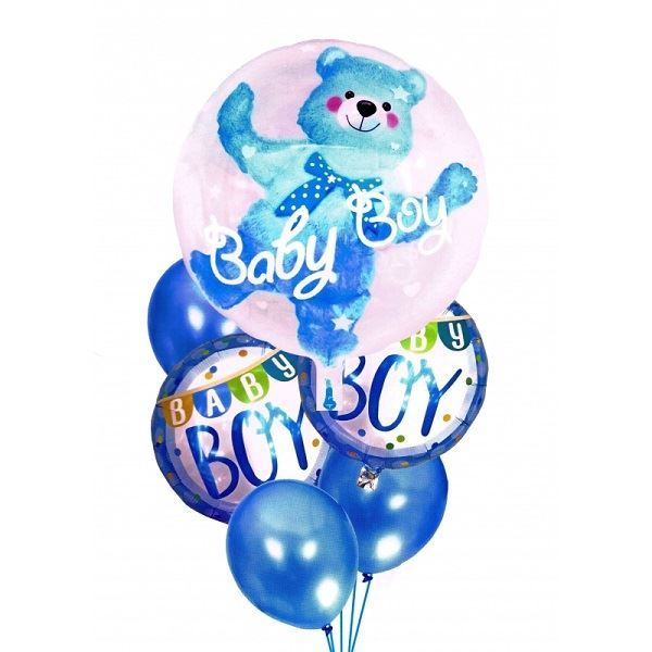 Nafukovací balónky pro chlapce BABY BOY