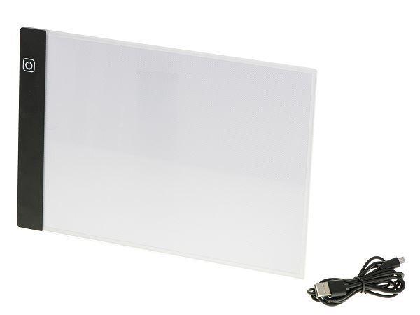 Podsvícená LED tabule na obkreslování- A4