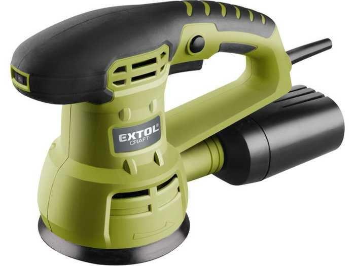 Bruska excentrická vibrační 430W, 125mm,407202, EXTOL CRAFT