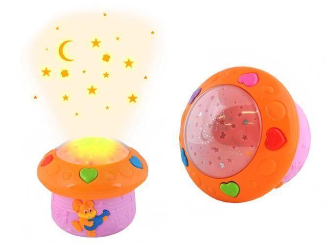 Projektor noční oblohy - s čidlem hlasu
