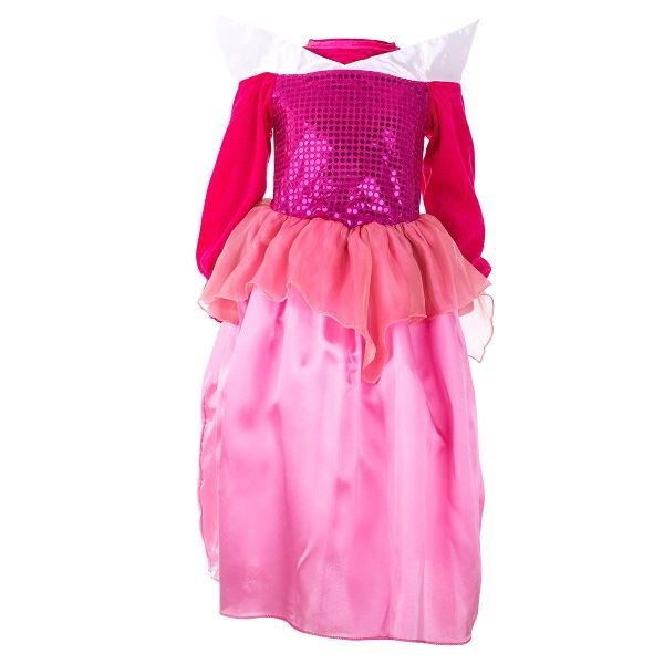 Dětský kostým princezny s doplňky, růžový- od 3-5 let