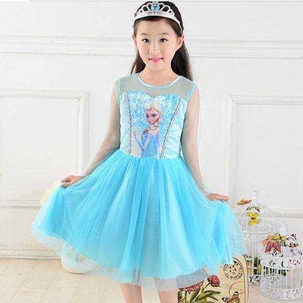 Elsa šaty  Frozen Ledové království ,120 cm