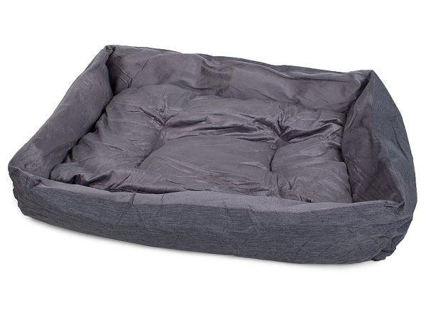 Pelíšek pro psa, šedý/L/80cm x 65cm x 12cm