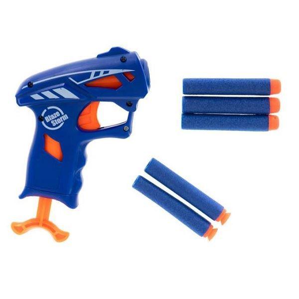 Krátká pistole Blaze Storm NERF + 5 šipek