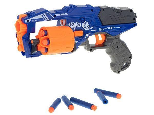 Dětská válcová puška Blaze Storm Nerf + 20 šipek