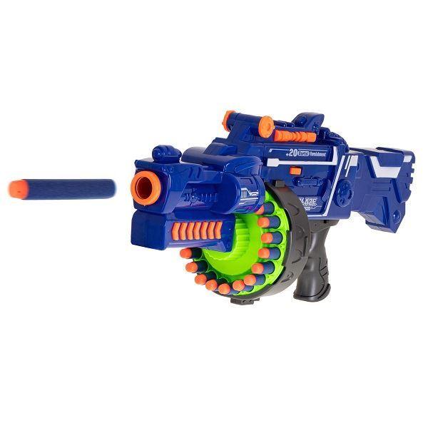 Dětský samopal pistole Blaze Storm NERF+ 40 šipek