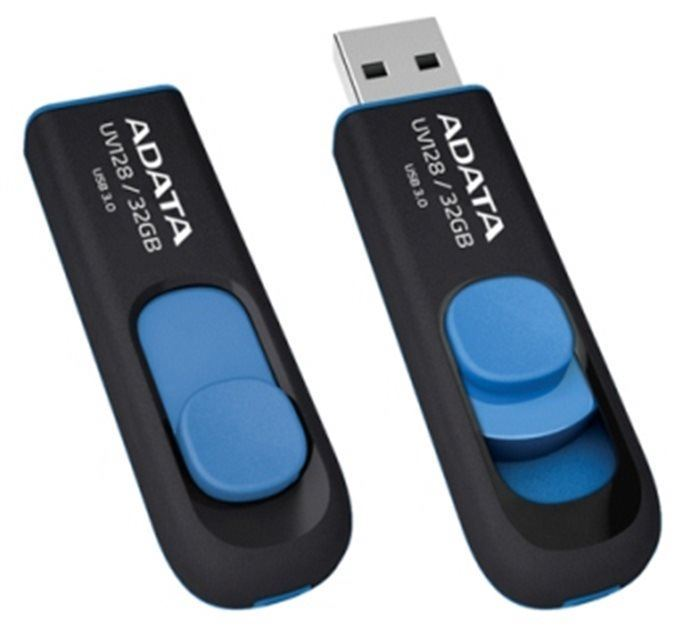 ADATA flashdisk USB 3.0 UV128 32GB blue