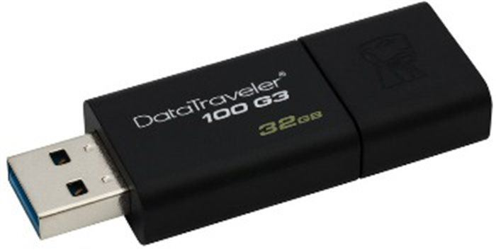 KINGSTON flashdisk USB 3.0 DataTraveler 100 G3 32GB