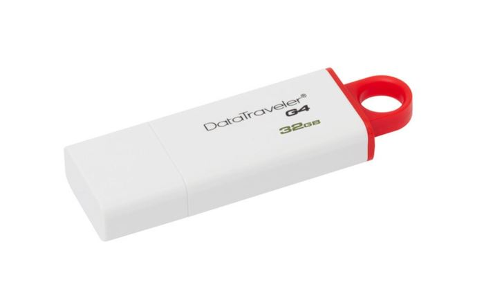 KINGSTON flashdisk USB 3.0 G4 32GB červený
