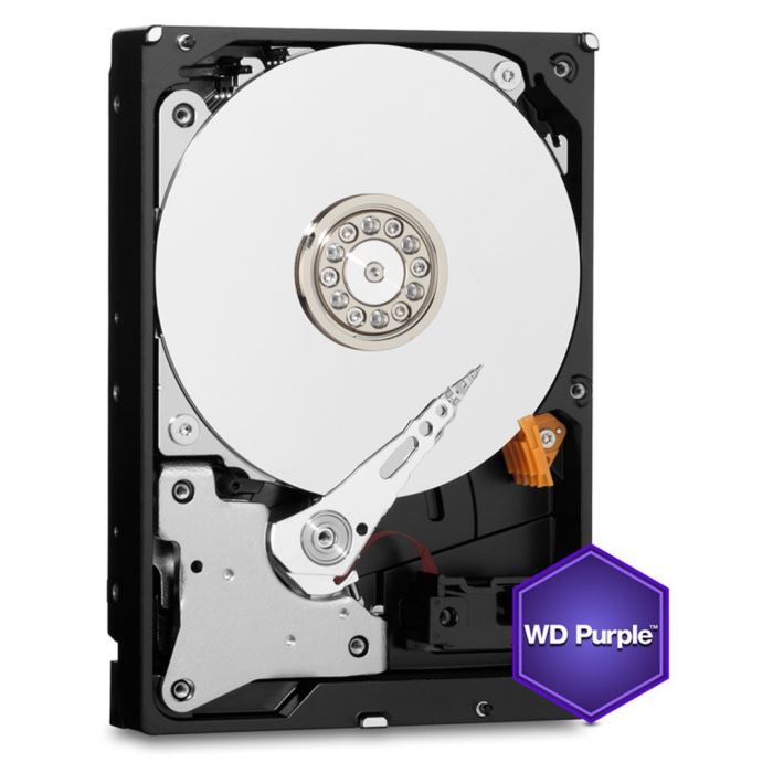 HDD 2TB WD20PURZ Purple 64MB SATAIII 5400rpm 3RZ