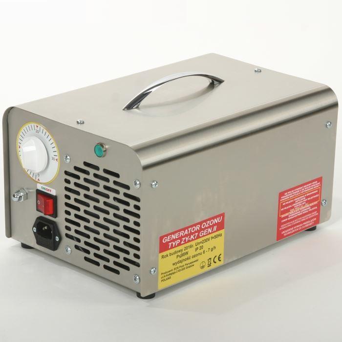 Generátor Ozonu,  7 g/h, K-7