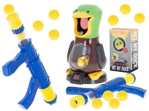 Dětská interaktivní hra, hladová kachna