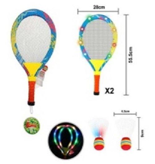 Badminton s LED osvětlením, + košíky