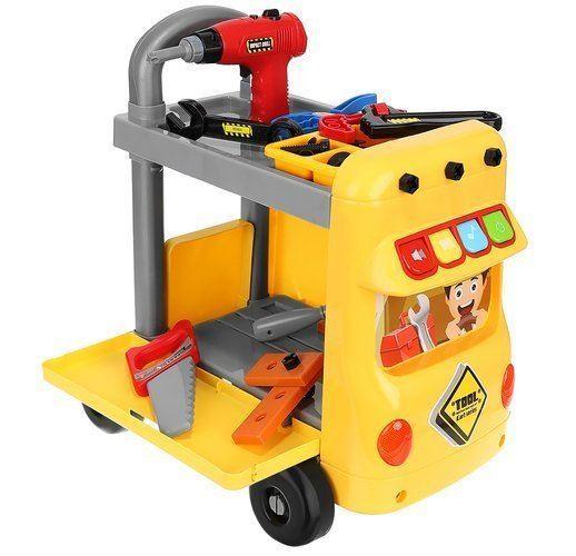 Dětský vozík s nářadím 38 dílů
