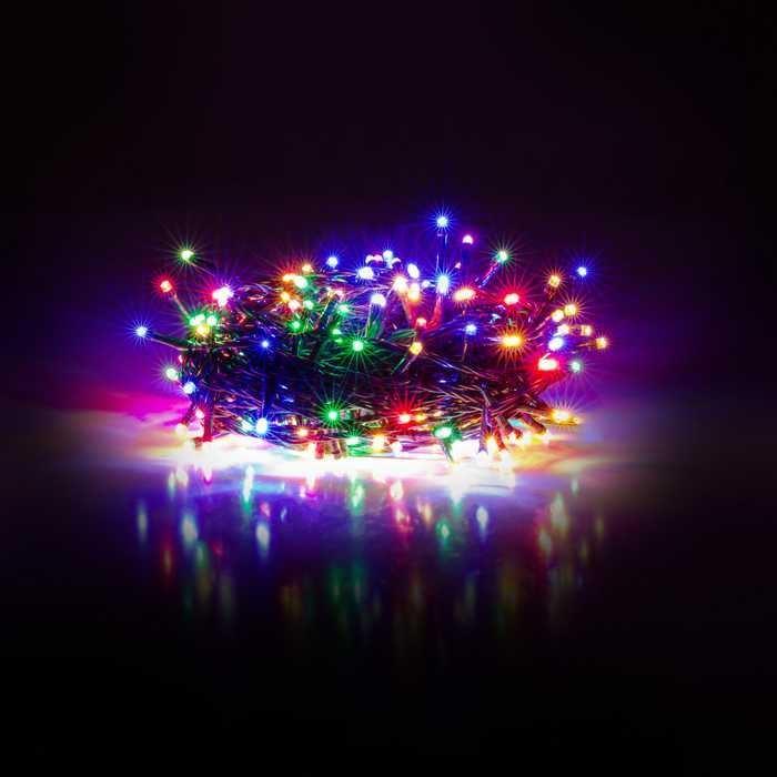 Vánoční  osvětlení RXL řetěz 100LED 10+5m MC RETLUX