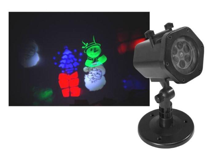 Vánoční osvětlení Laser projektor LTC 102