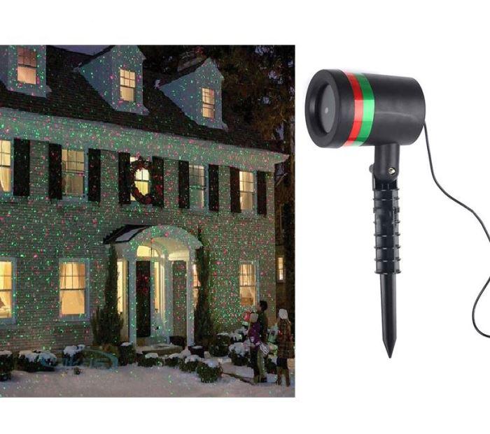 Vánoční osvětlení Laser Light /SHOWER/ LED projektor, po opravě
