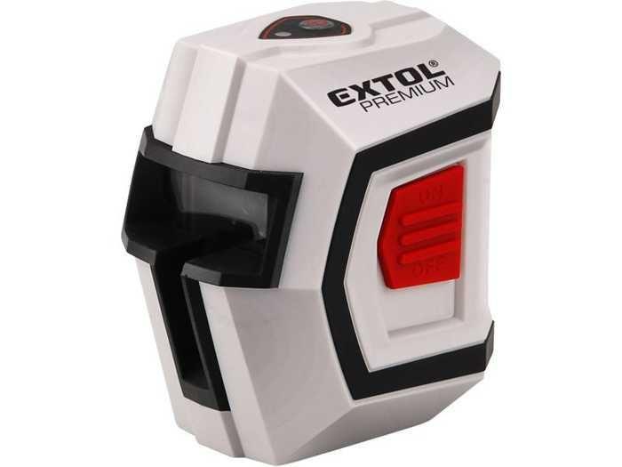 Laser liniový, křížový samonivelační 1H1V, EXTOL PREMIUM, 8823301