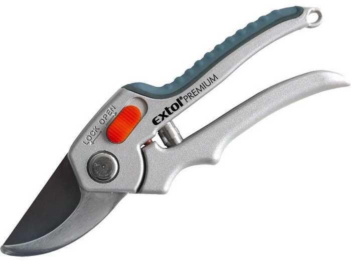 Nůžky zahradnické 215mm, EXTOL PREMIUM