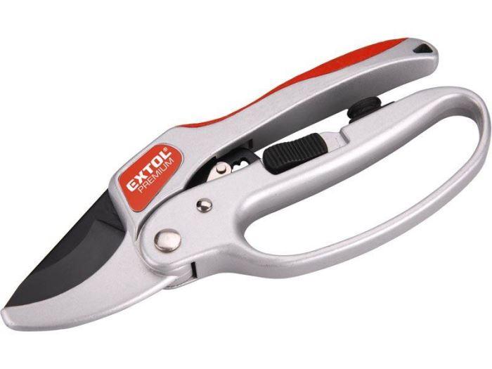 Nůžky zahradnické s rohat. převodem, 205mm, SKS,  EXTOL PREMIUM