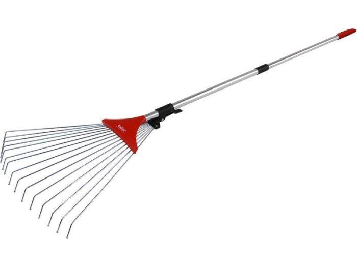 Hrábě nastavitelné s tel. násadou délka 80-158cm, EXTOL PREMIUM