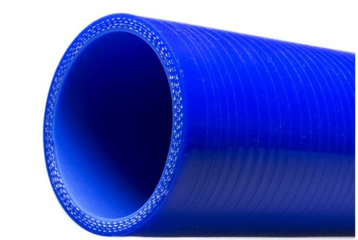 Silikonová hadice 55mm, délka 1000mm, modrá